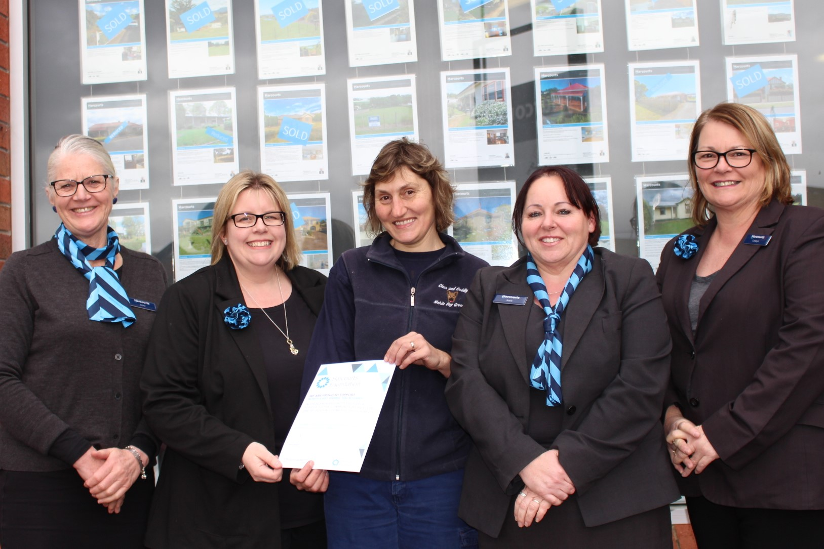 North East Animal Sanctuary with Harcourts North East (August 2017).jpg