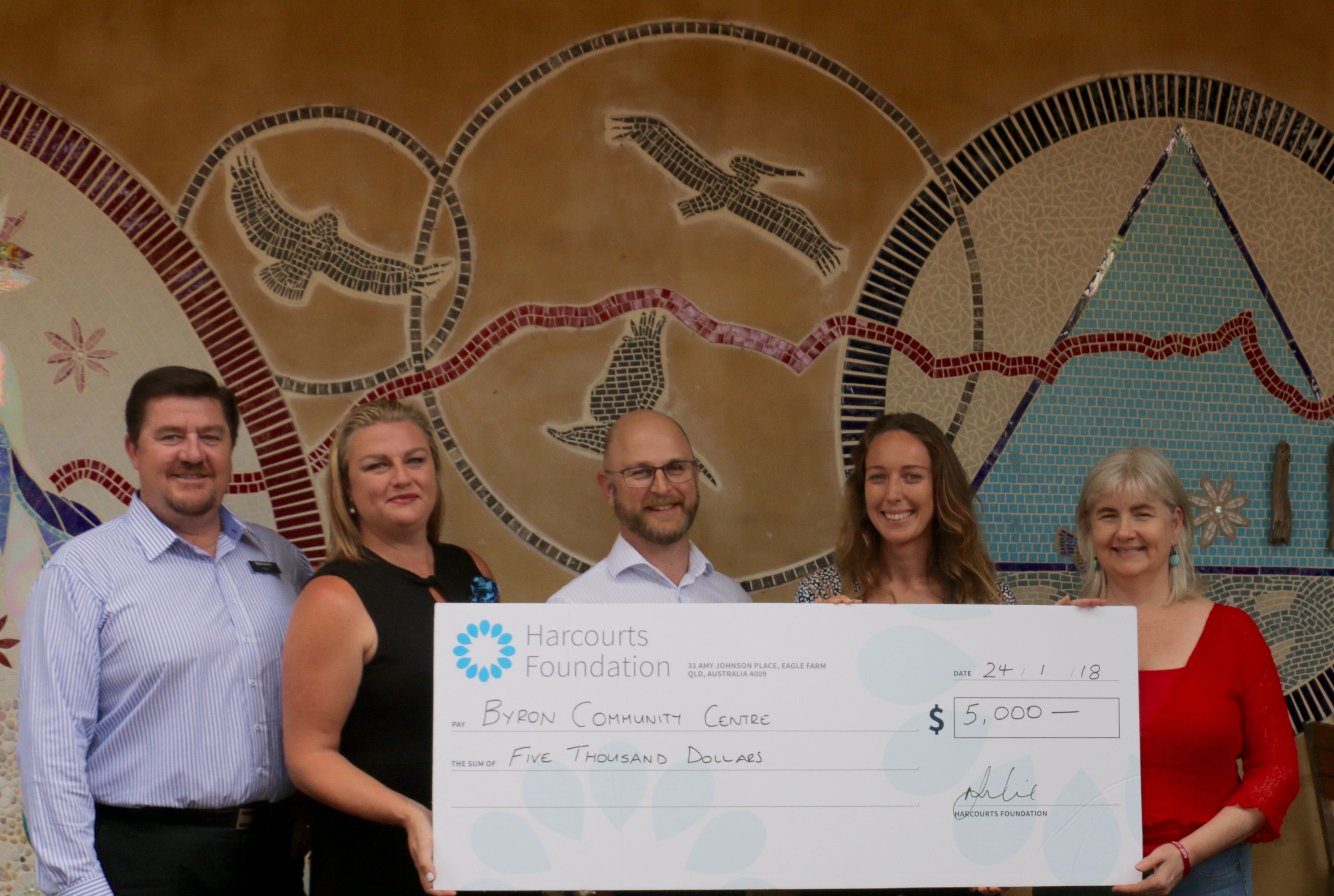 The Harcourts Foundation Grants Over $139,000