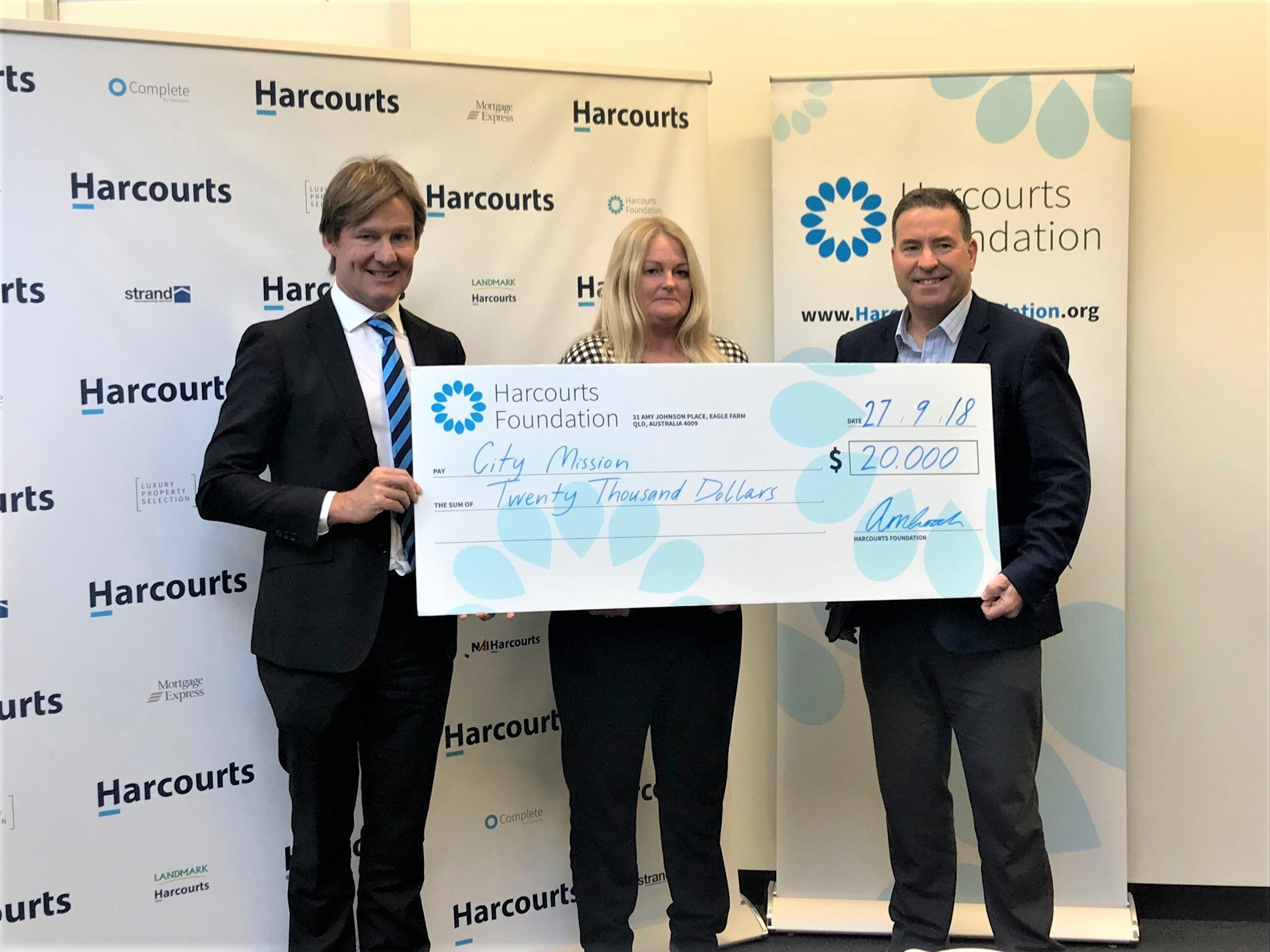 The Harcourts Foundation Grants Over $65,000