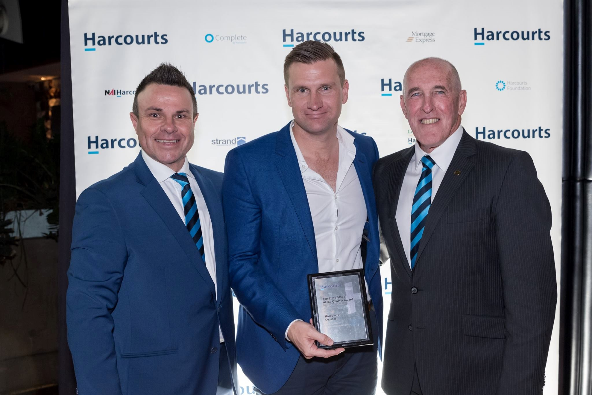 Harcourts Queensland Presents Quarterly Awards