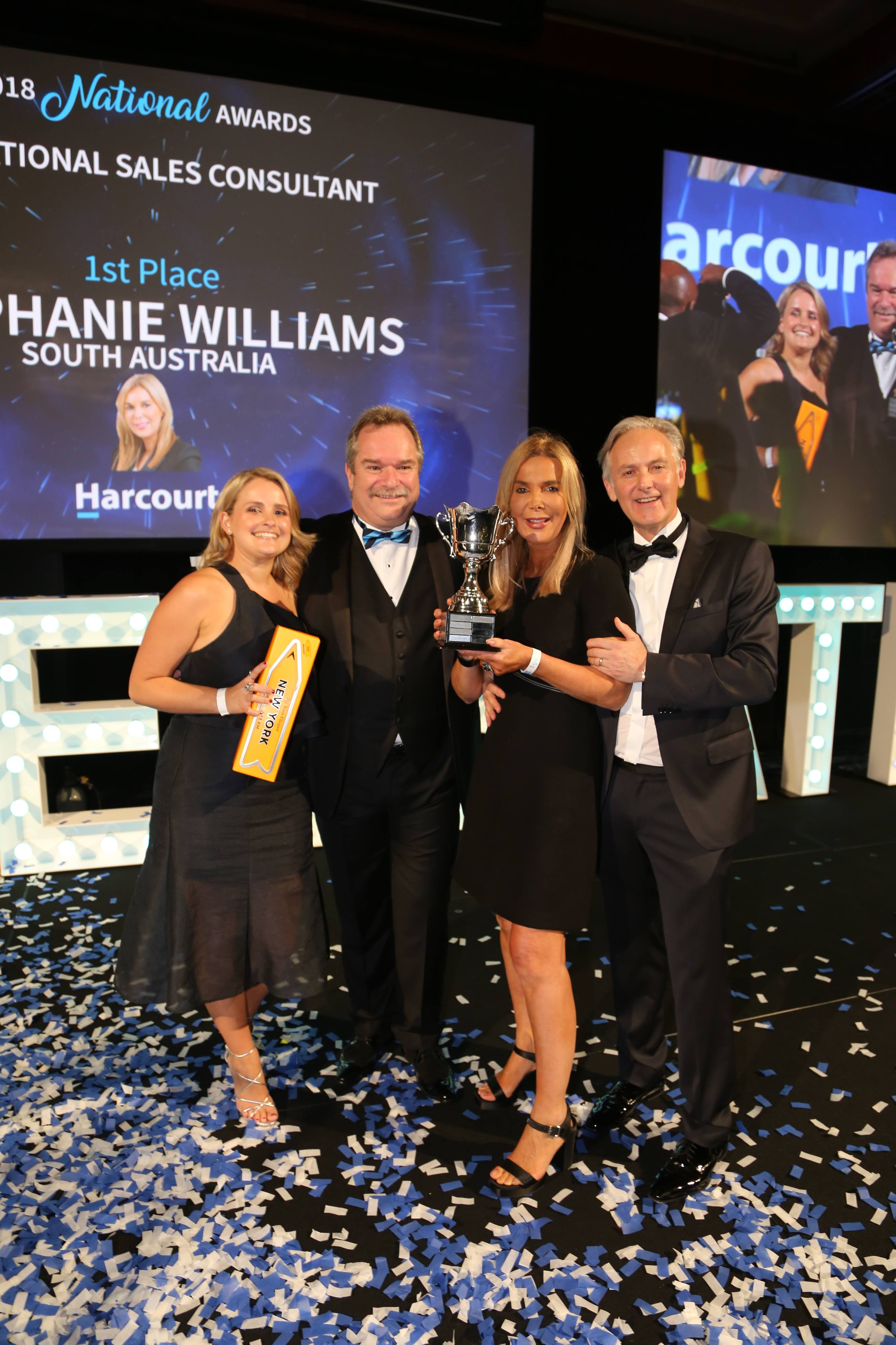 Adelaide's Stephanie Williams Repeats as Harcourts Australia Top Sales Consultant of the Year