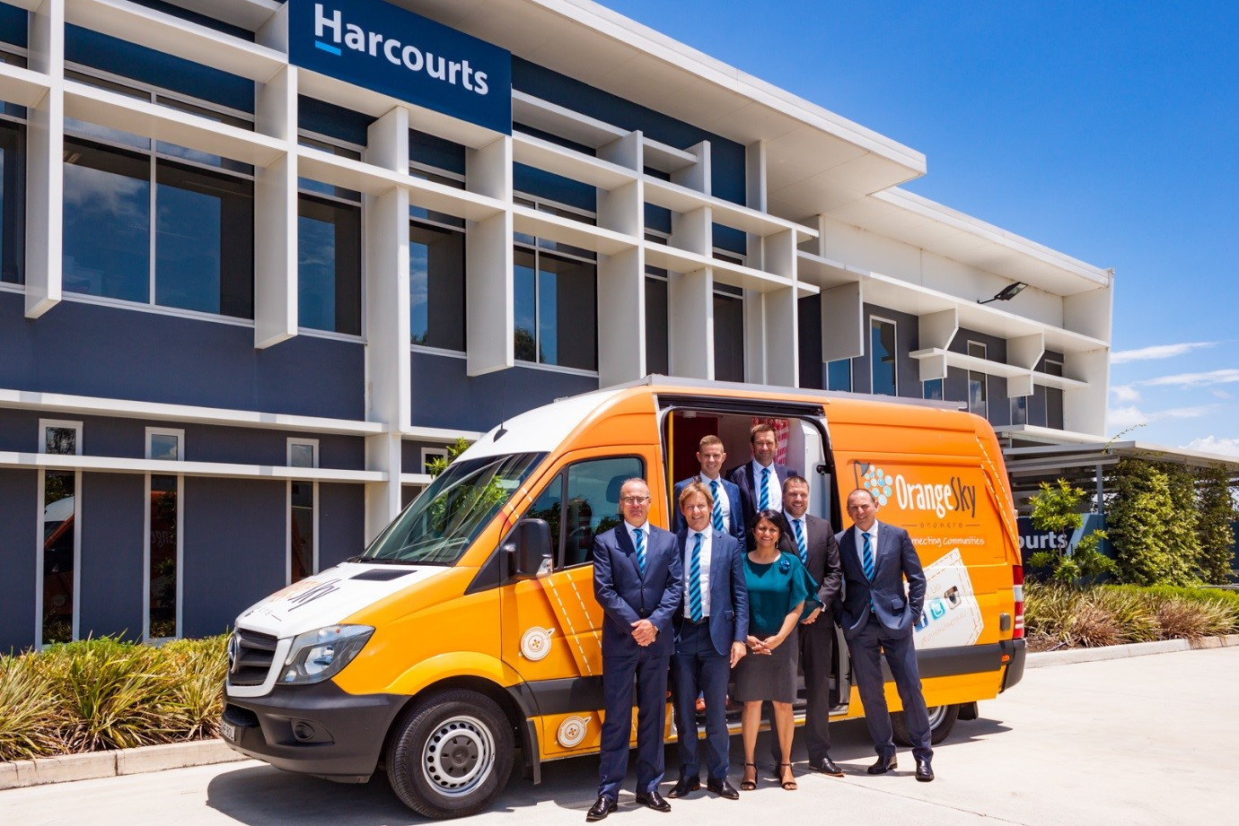 The Harcourts Foundation Announces Support of Orange Sky Laundry