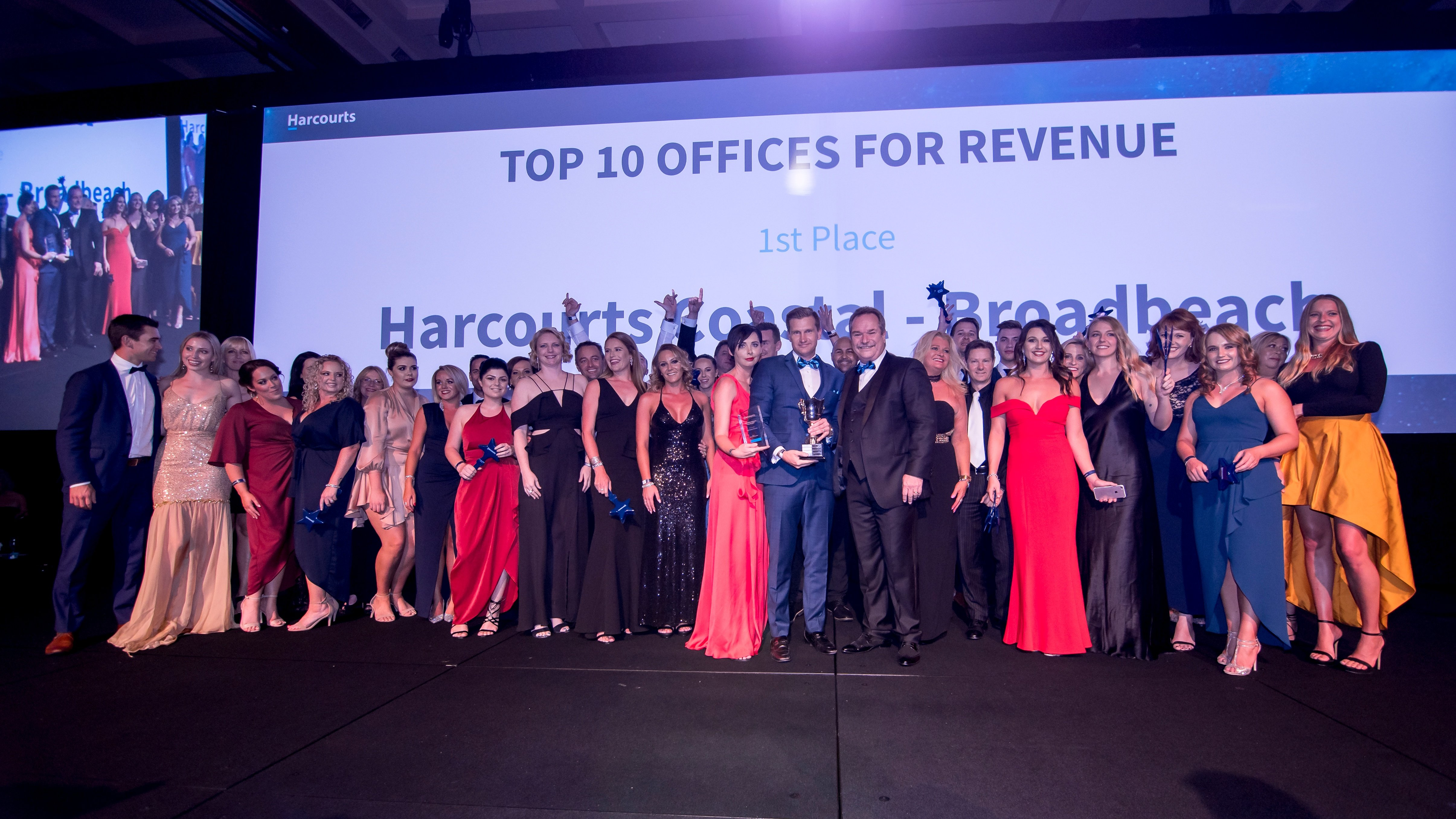 Harcourts Group Australia Celebrates 20th Anniversary with Gala Awards and Conference