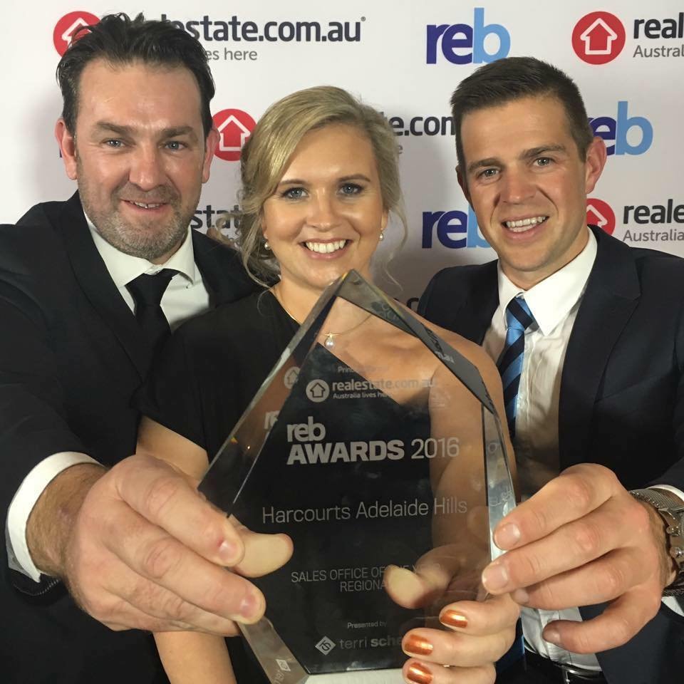 Harcourts Adelaide Hills is Australia's best regional sales office