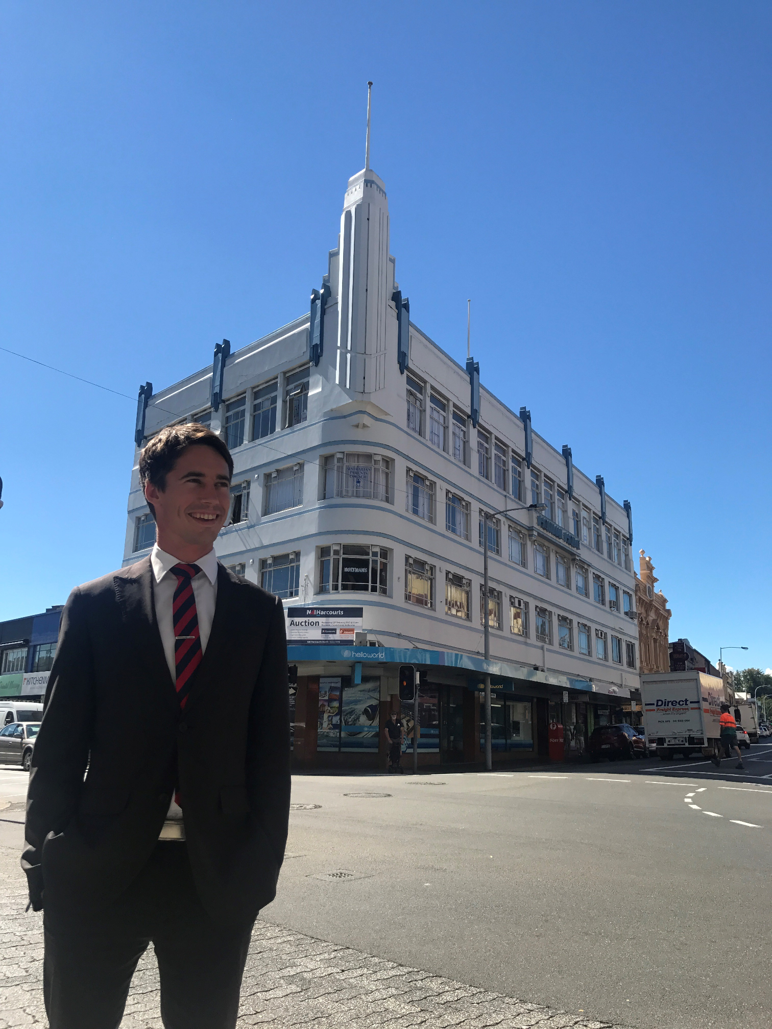 Launceston's iconic 'Holyman House' goes under the hammer