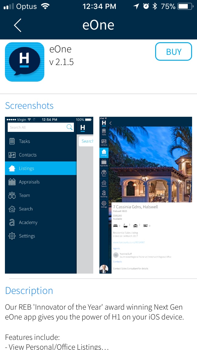Harcourts Launches App Store