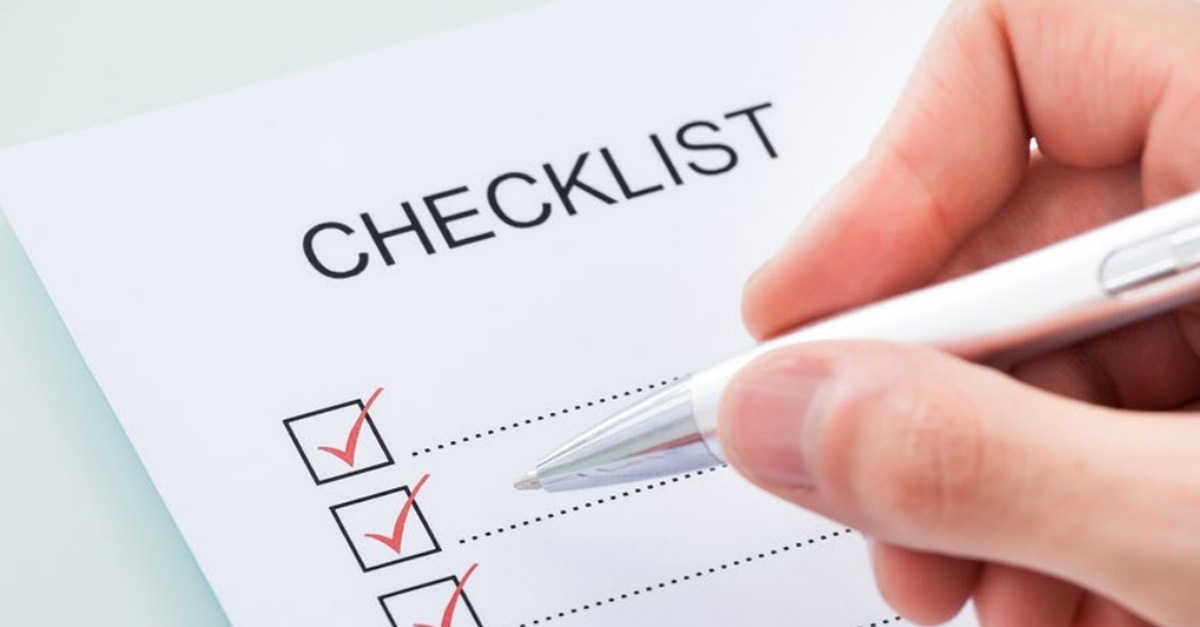 property selling checklist or to sell your home