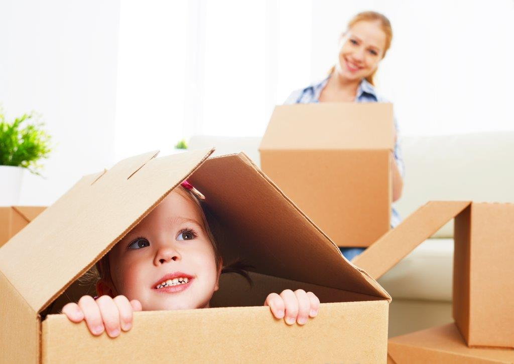 Moving house with kids? Here are our tips to keep kids happy on moving day